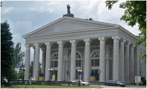 В Донецке ограбили музыкально-драматический театр