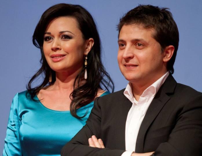 Владимир Зеленский с супругой съездили к Анастасии Заворотнюк - кадры