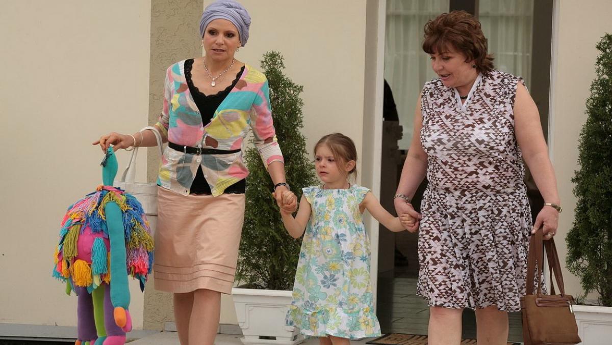 сваты, первая, исполнительница, роль, внучка, Женя, Ульяна Иващенко,
