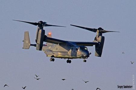 """В Одессе приземлились """"диковинные птички"""": в Украину на учения Sea Breeze прилетели уникальные конвертопланы Bell V-22 Osprey ВМС США"""