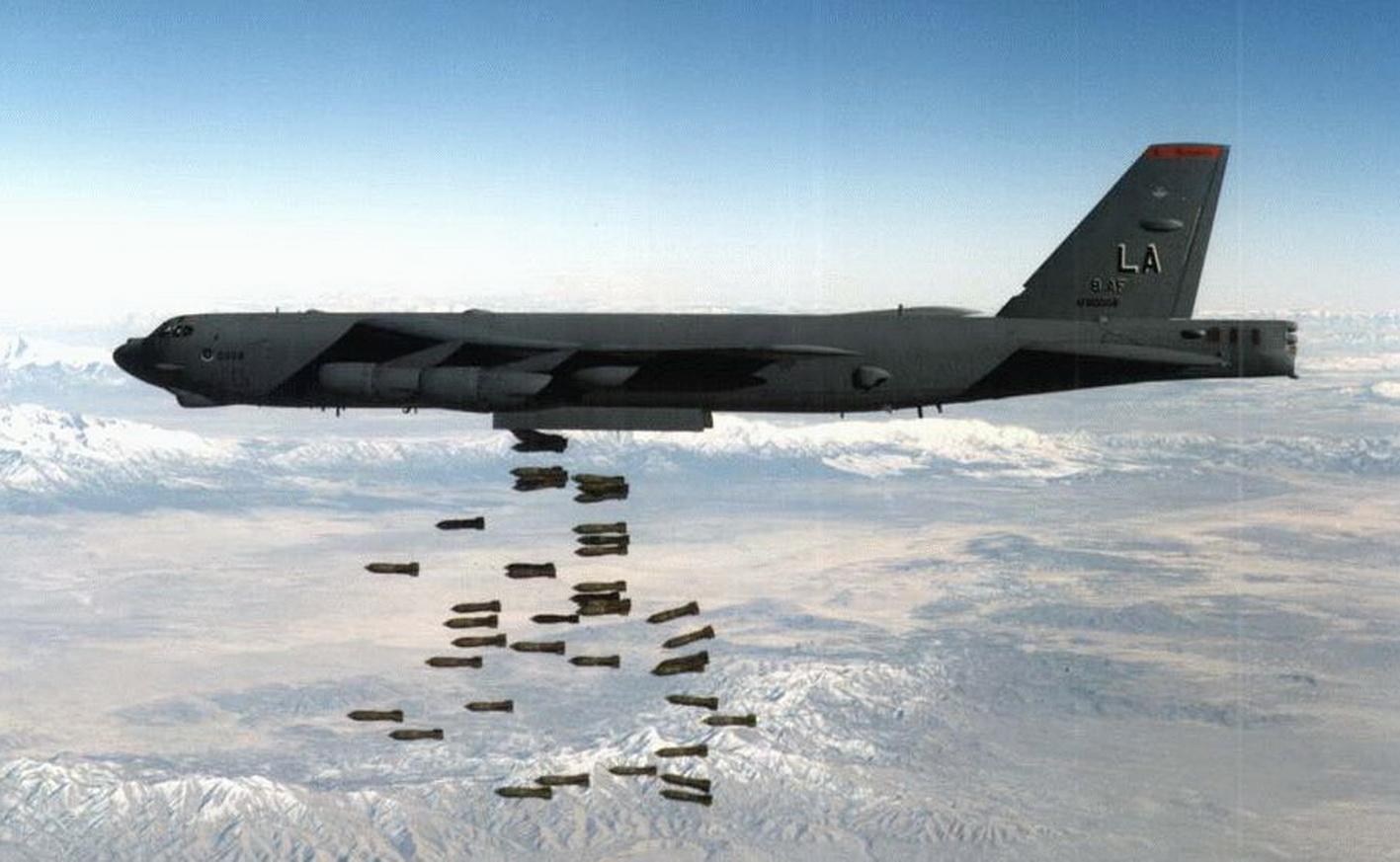 """Крым, Берег, Территориальные воды, ВВС США, Бомбардировщики, Учения, Б-52, Тренировка, Бомбардировка, """"Файрфорд"""", Европа"""