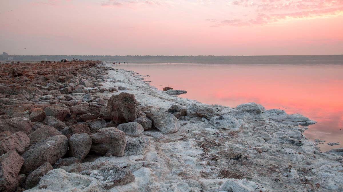 Попасть на Марс, не покидая Земли: в Украине появился удивительный лиман