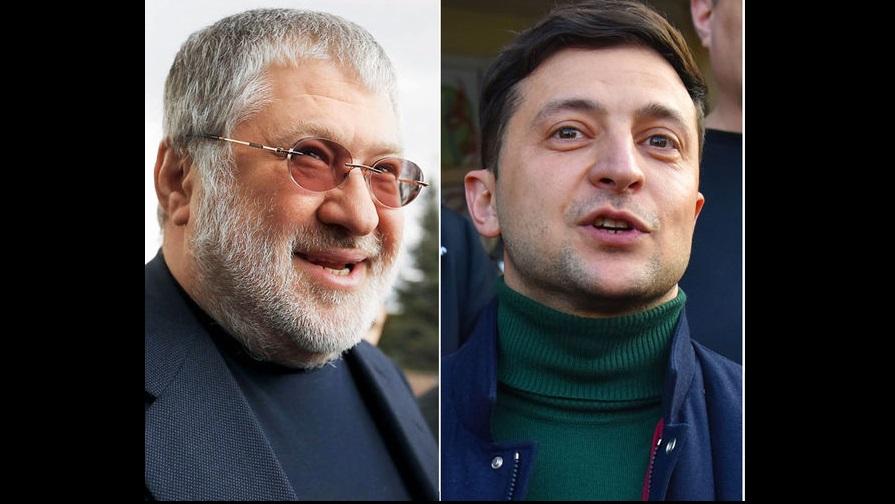 Украина, политика, выборы, зеленский, кандидат, коломойский, Вакарчук