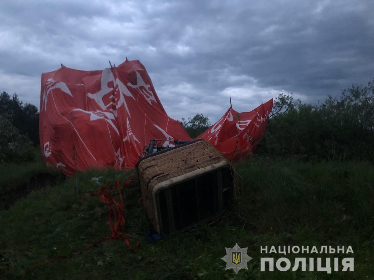 В Каменец-Подольском на фестивале воздушный шар перевернулся и упал на землю: есть погибший и много раненых