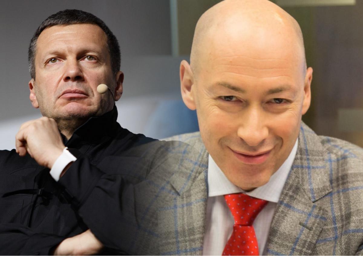"""Гордон предложил Владимиру Соловьеву """"пососать свою конфету"""": опубликовано видео"""