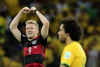 Бразилия - Германия - 1:7. Видео голов и лучших моментов матча