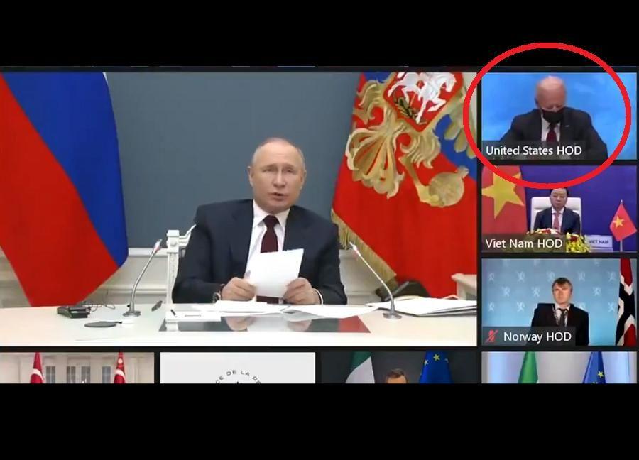 """Поступок Байдена во время выступления Путина на саммите по климату возмутил РФ: """"Он специально это сделал"""""""