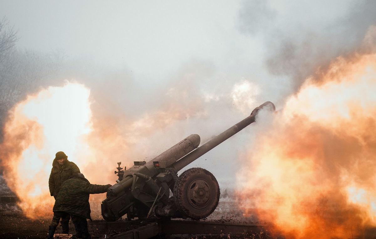 ВСУ показали видео контрудара по российским наемникам на Донбассе: артиллерия разнесла укрепрайон