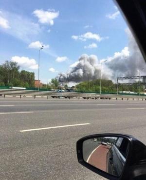 Балашиа, завод, Подмосковье, взрыв, пожар, Россия