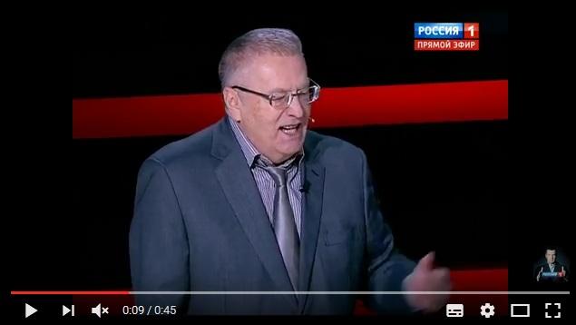 """Жириновский закатил истерику у Соловьева: """"Нас все ненавидят и боятся! Украина уходит! Все от нас уходят!"""""""