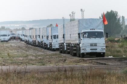 Гуманитарный конвой из РФ будут сопровождать 45 представителей Красного Креста
