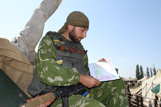 Сводка штаба АТО о событиях в Донбассе