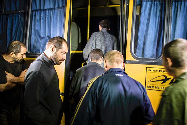 Украина, Киев, ВСУ, обмен пленными, Донбасс, Пушилин, Донецкая республика, ДНР, АТО