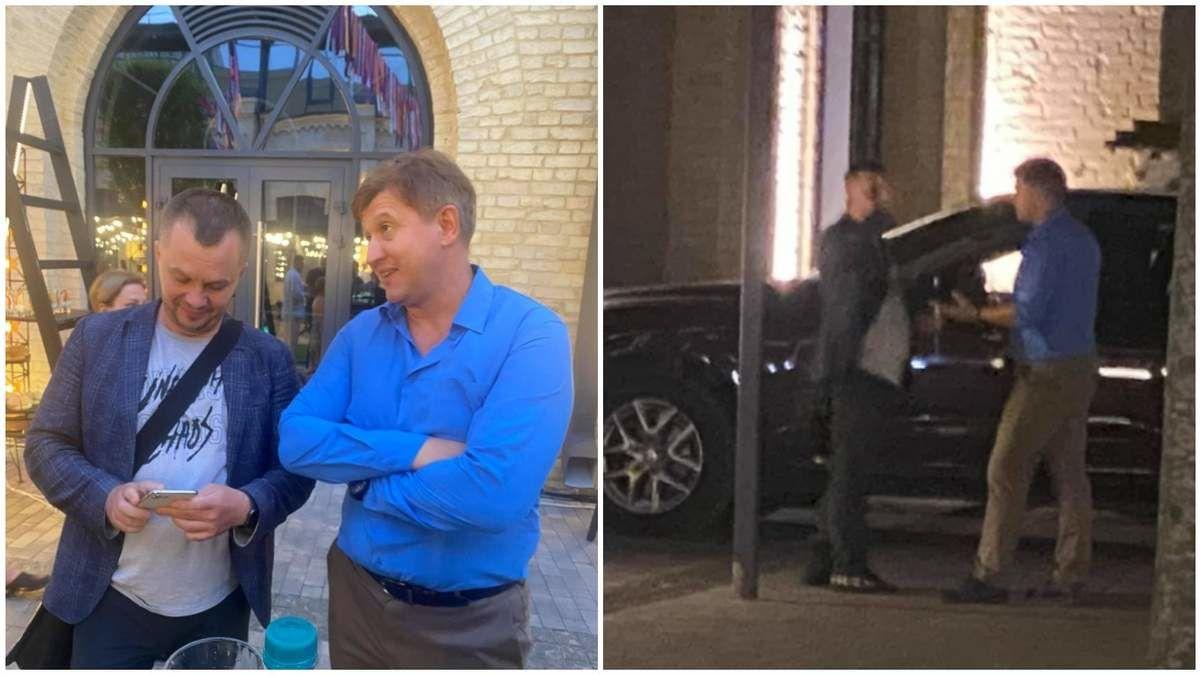"""Данилюк подрался с Миловановым на дне рождения: """"Тебе вспомнить, как ты во времена Януковича работал?"""""""