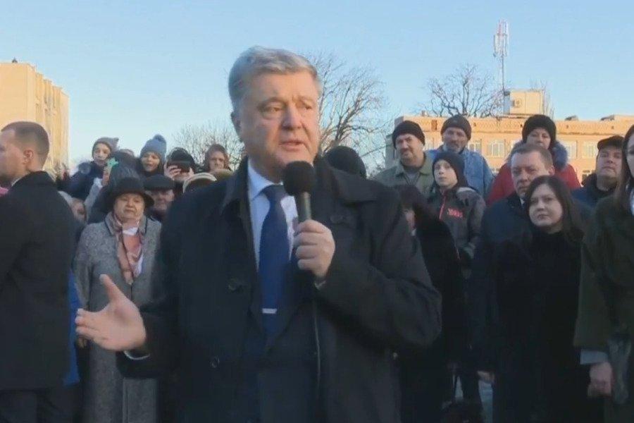 Петр Порошенко объяснил, почему Путин напал на украинские корабли, - кадры