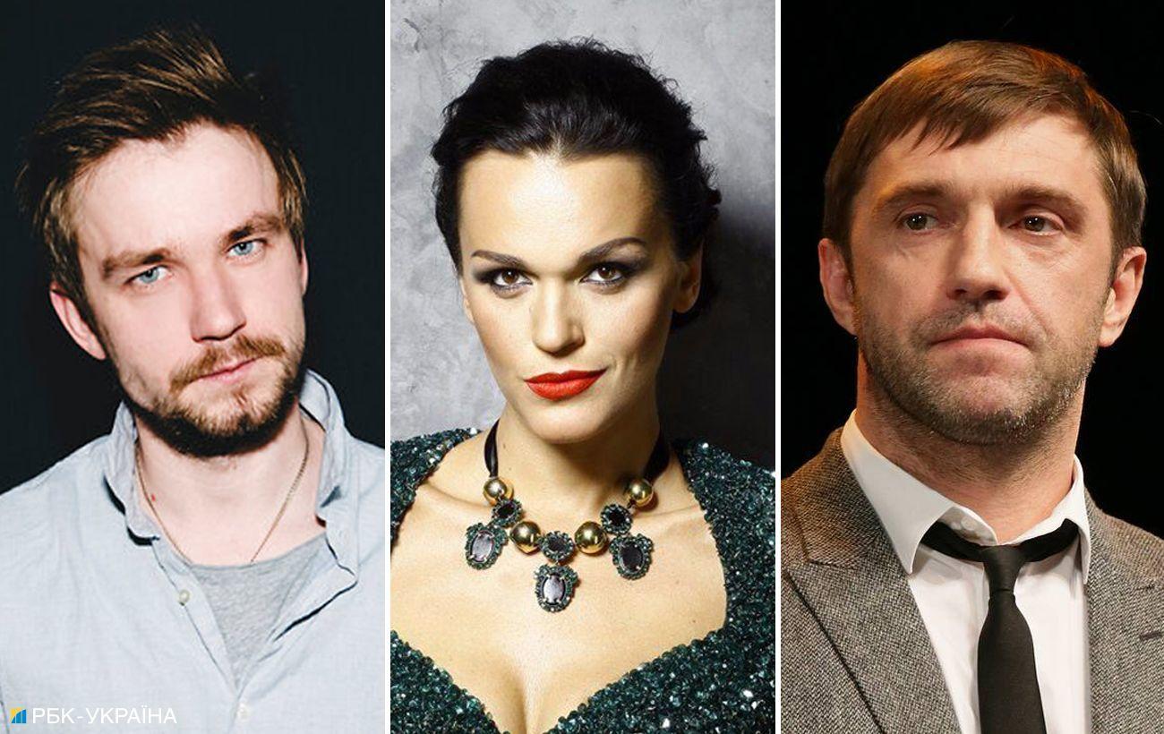 Вдовиченков, Петров, Стычкин и другие: Украина введет санкции против 11 актеров из РФ