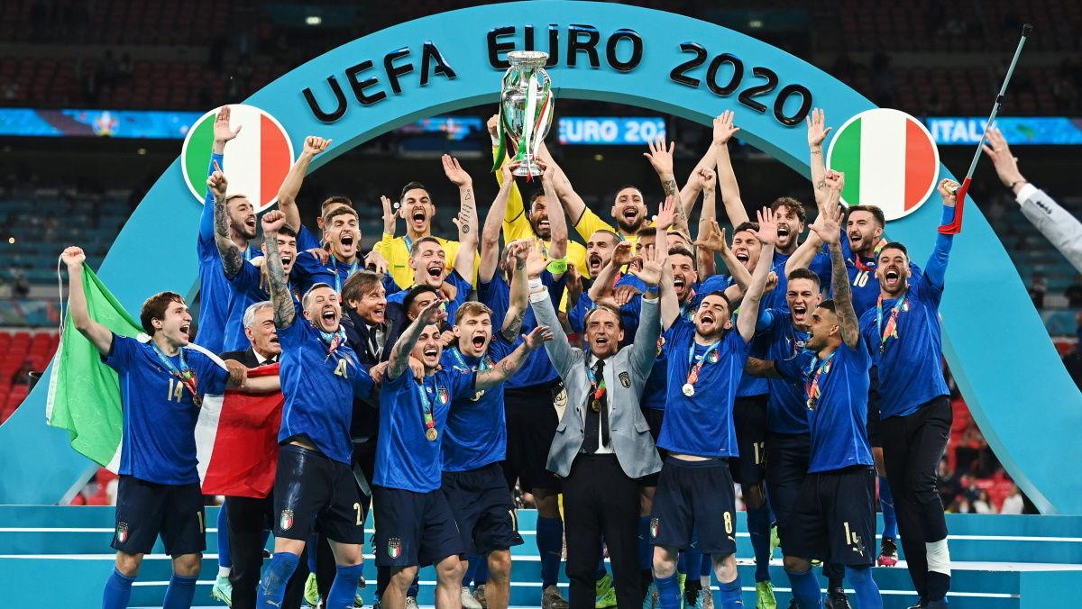 Финал Евро – 2020: Италия поставила несколько рекордов и выиграла у Англии в Лондоне