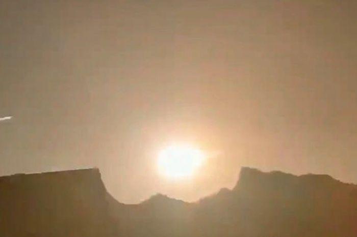 Суперболид в Китае: попал на видео метеорит мощностью 9,5 килотонн, вызвавший огромную взрывную волну