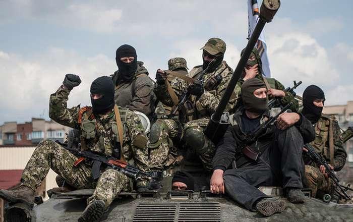 """Боевики """"ДНР"""" трусливо расстреливали позиции ВСУ в районе Песок и Авдеевки из окрестностей временно оккупированного Донецка"""