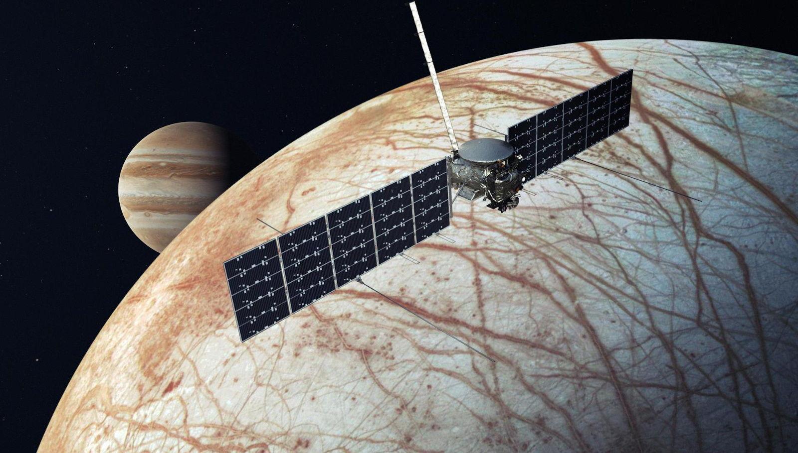 Space X отправит зонд NASA к наиболее загадочному спутнику в Солнечной системе