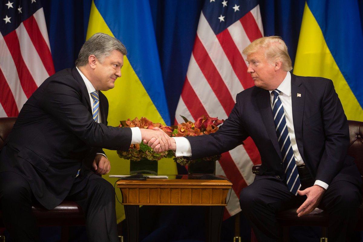 """""""Встреча была невероятной! США – это настоящий друг, который поддержал нас в трудную минуту!"""" – появился первый комментарий Порошенко после переговоров с Трампом – кадры"""