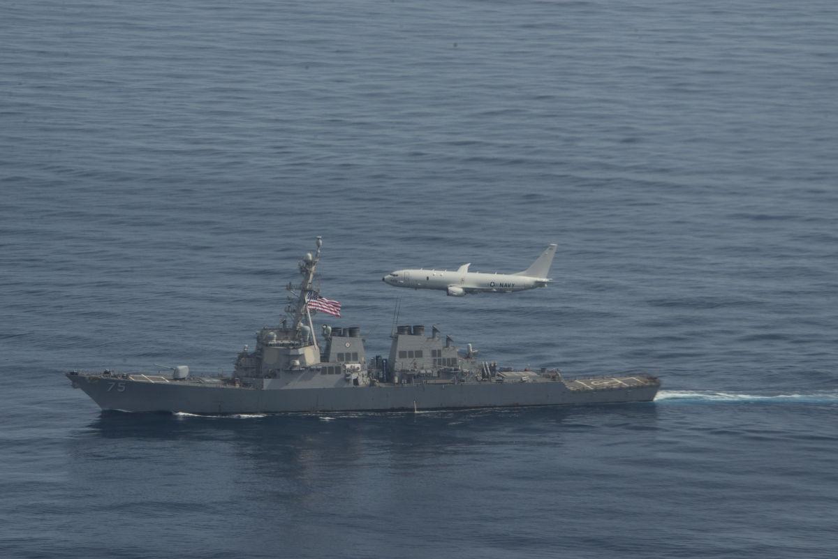 """Российский Су-24М """"подразнил"""" оснащенный """"Томагавками"""" USS Donald Cook в Черном море"""
