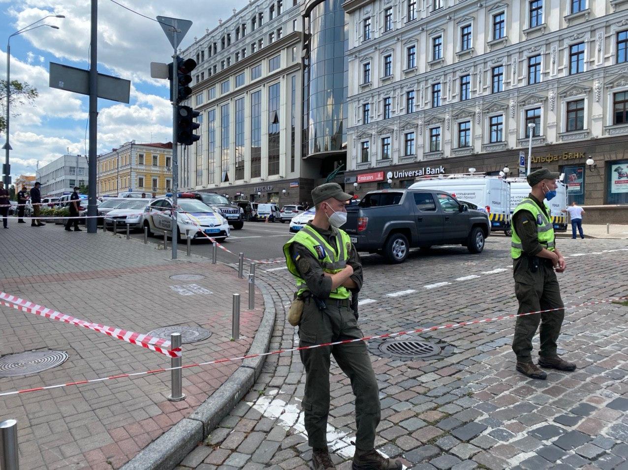 Захват банка в Киеве: Геращенко пояснил, будет ли силовой захват здания