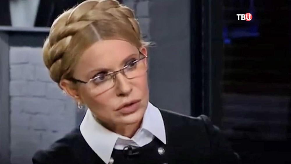Видео скандала из-за Тимошенко на украинском ТВ: журналисты в прямом эфире поставили Юлю на место