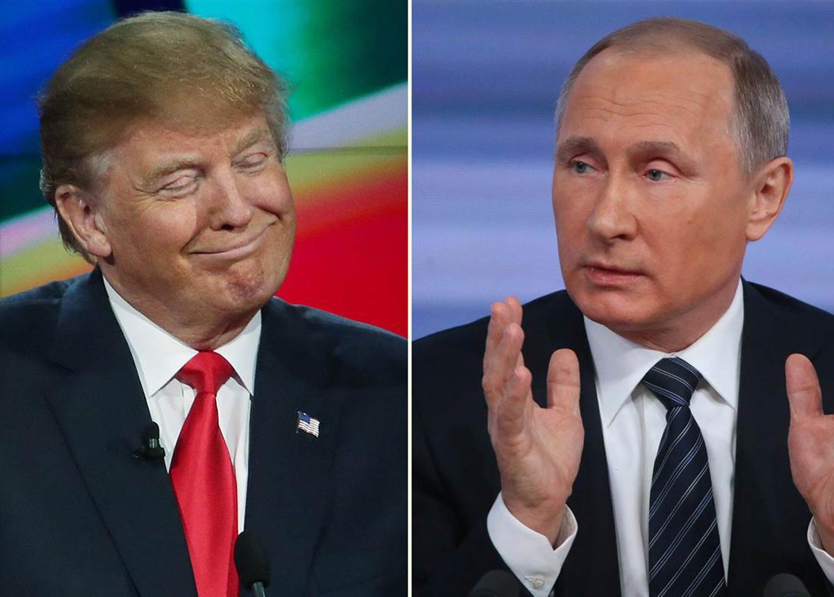 Украина, Трамп, Путин, Крым, Донбасс, Переговоры, Встреча.