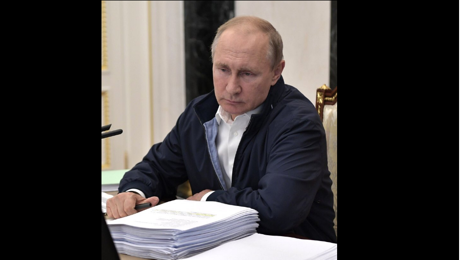 Россия, фото, Путин, москва соцсети