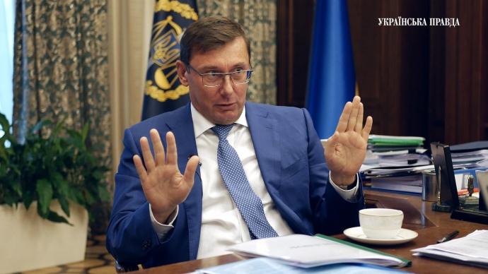 """Луценко рассказал, кто """"отмазал"""" мэра Харькова Кернеса от тюремного срока"""