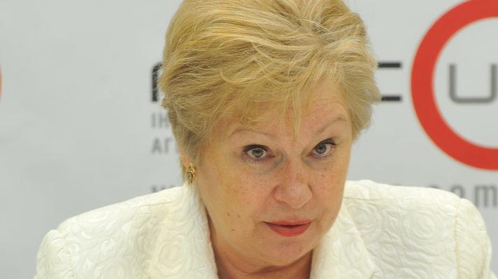 Бывшую коммунистку Александровскую держат в изоляторе: ее обвиняют в сепаратизме и взяточничестве