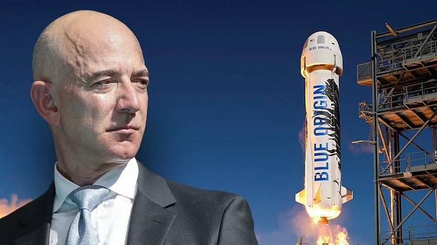 Миллиардер Джефф Безос летит в космос - возможны 3 мировых рекорда: прямая трансляция