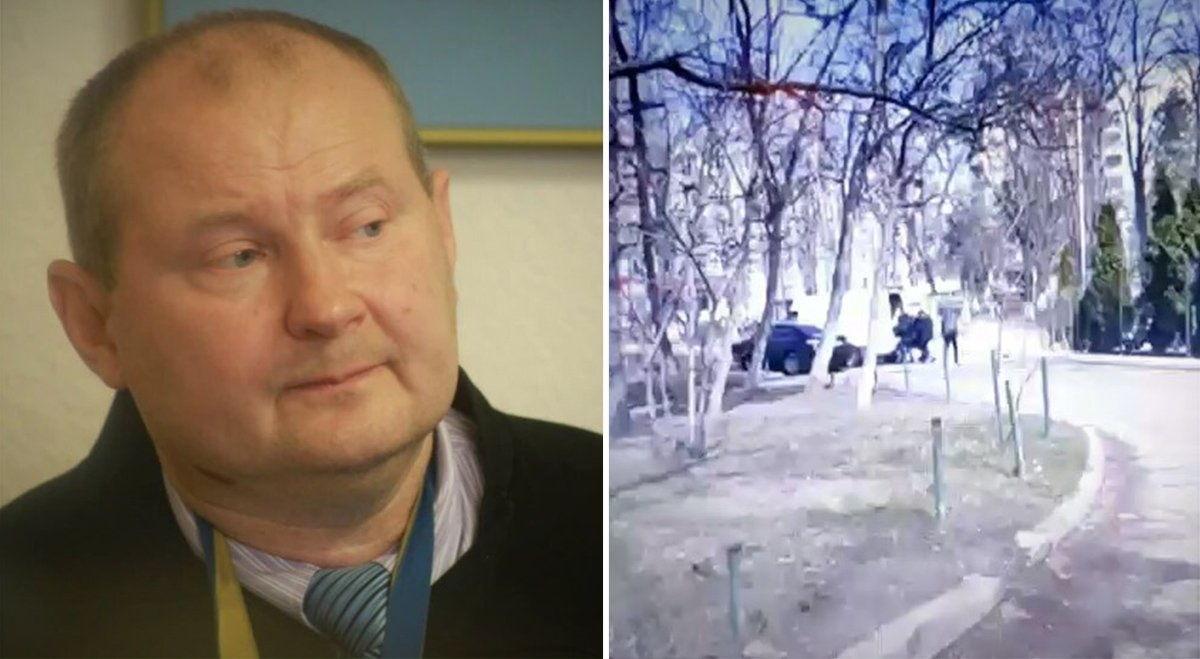 Похищение экс-судьи Украины Чауса в Молдове: видео обошло Сеть