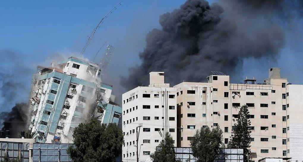 ЦАХАЛ: в здании Аль-Джалаа располагалась военная разведка ХАМАСа, они прятались за журналистами