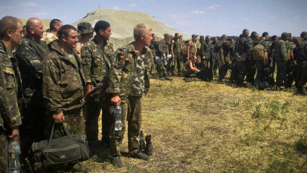 Из России на родину отправлены 48 украинских военнослужащих