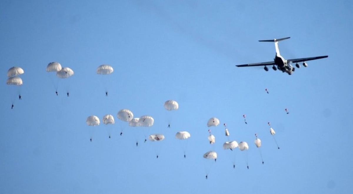 Учения ДШВ Украины и Великобритании: более сотни бойцов высадились возле Крыма
