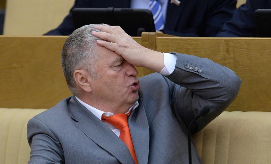 """Смеялись даже кремлевские пропагандисты: Жириновский вскрыл коварную """"многоходовочку"""" Путина на встрече с Трампом - кадры"""