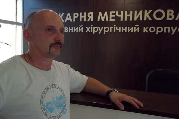 Замглавы Днепропетровской областной больницы Юрий Скребец ранен на Донбассе и доставлен в госпиталь