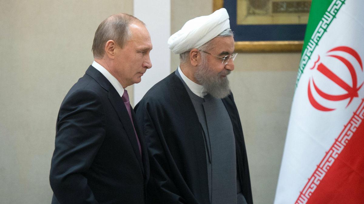 """Эксперты: Кремль начинает гибридную """"войну"""" против Ирана"""
