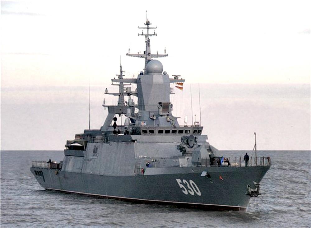 Корабли российского ВМФ нарушили морские границы Латвии