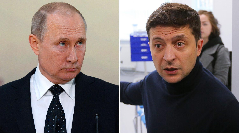 """""""Есть война, она на Донбассе, какая адженда?"""" – Зеленский ответил Путину на отказ от встречи"""
