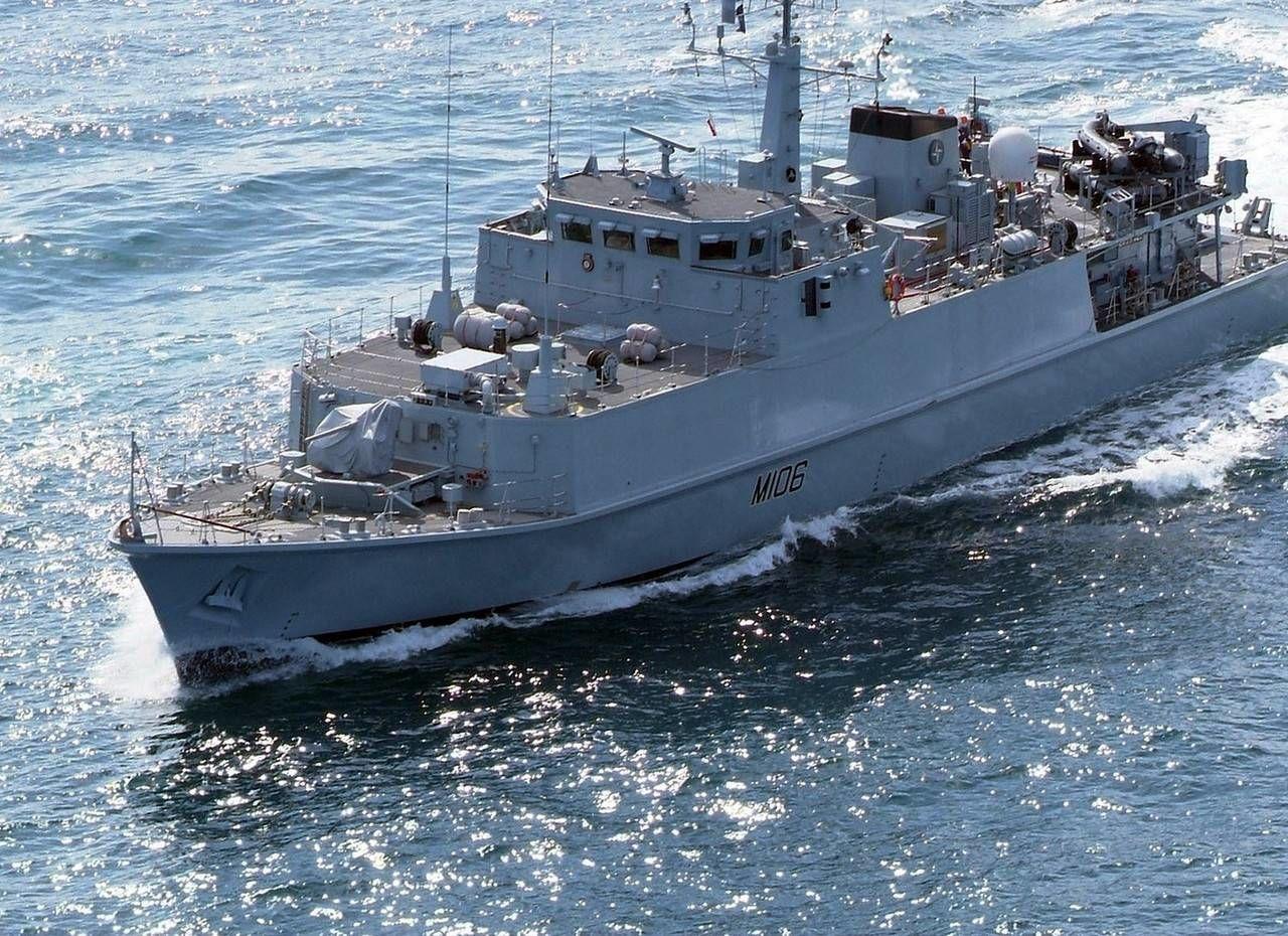 Украина получит два военных корабля Sandown от Британии