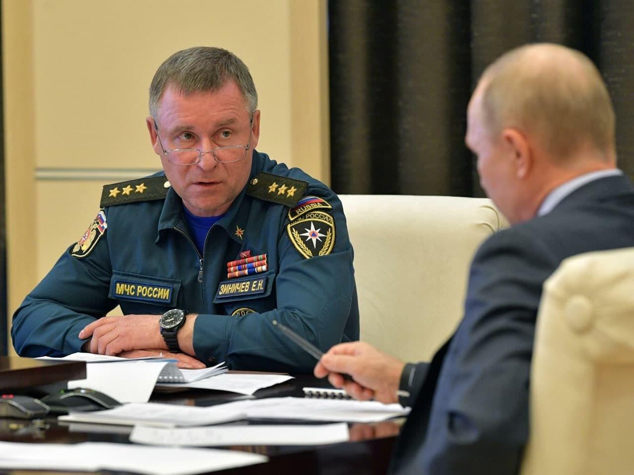 Погиб глава МЧС России, был личным адъютантом Путина и работал на ФСБ – СМИ 1
