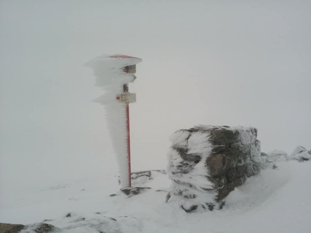 Карпаты встретили первый день лета снегом, погода ухудшается – впечатляющие кадры