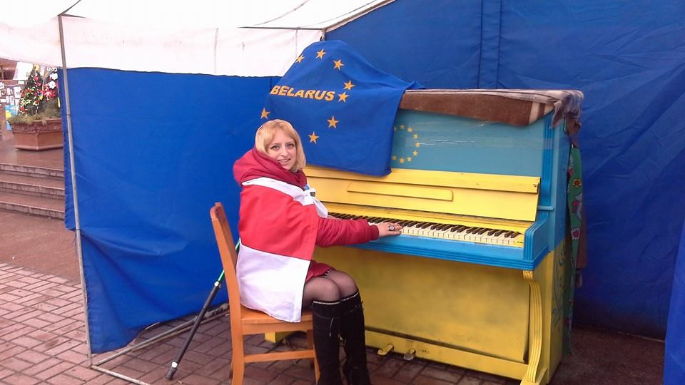 """""""Надя, я с тобой!"""" - молодая мать из Беларуси объявила голодовку до тех пор, пока Савченко не вернется в Украину"""