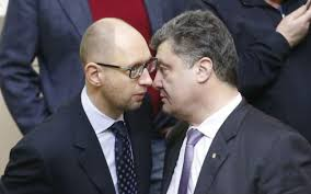 """У Саакашвили назвали Порошенко одним из отцов-основателей """"Партии регионов"""", а Яценюка - постсовдеповским политиком"""