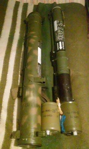 СБУ обезвредила склад боеприпасов ополченцев около Дебальцево