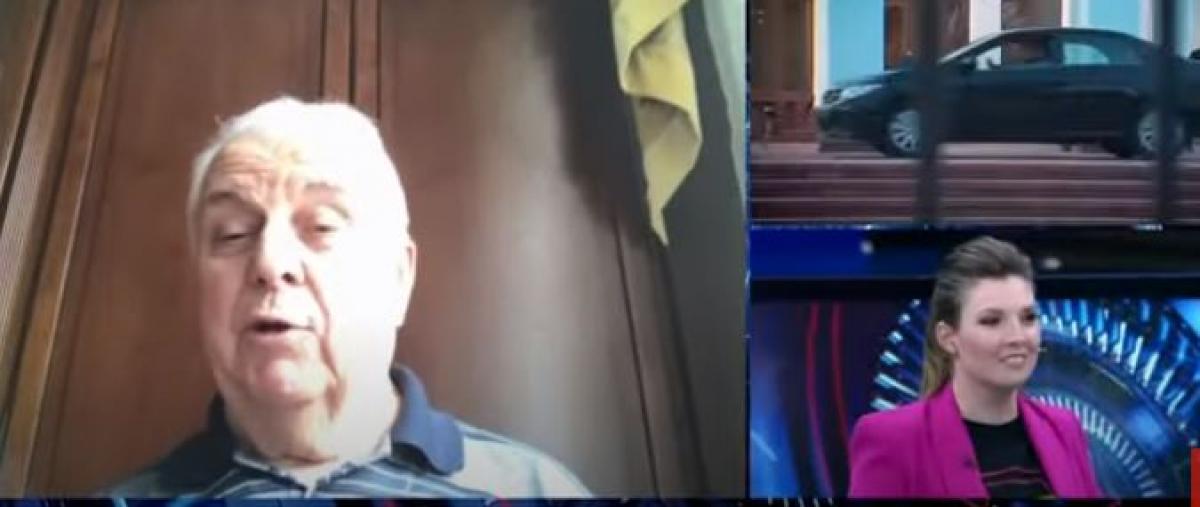Кравчук вышел в прямой эфир к Скабеевой: рассказал, как будет доминировать в ТКГ и сорвался на крик