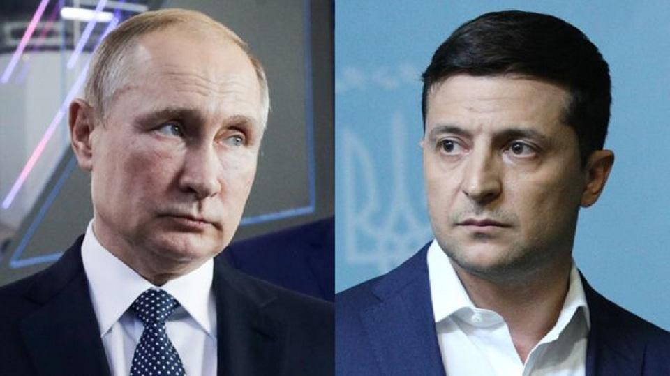 Украина, политика, зеленский, путин, россия, переговоры, звонок, кремль